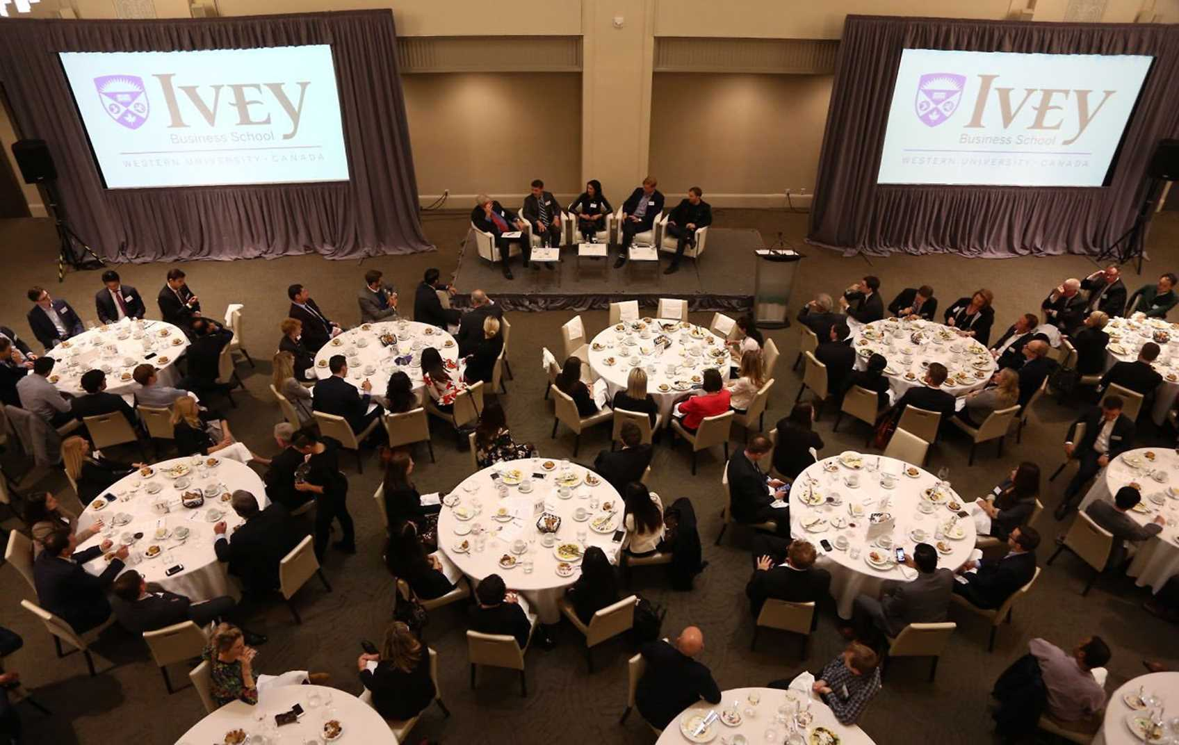 Global Ivey Day 2017 – Power Lunch